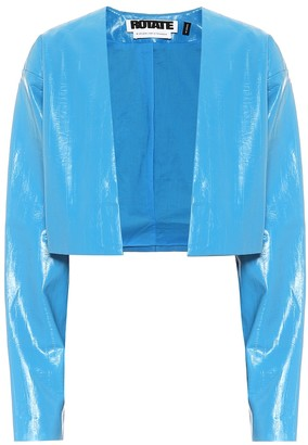 Rotate by Birger Christensen Magrit faux-leather jacket