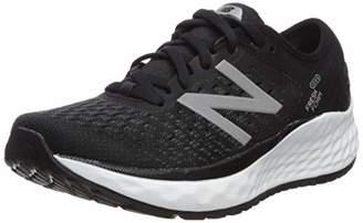 New Balance Women's Fresh Foam 1080v9 Running Shoes, (Black/White), 8 UK-Extra Wide (2E) 41.5 EU