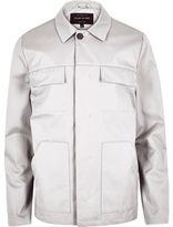 River Island MensLight grey casual jacket