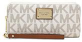 MICHAEL Michael Kors Jet Set Signature Travel Continental Multifunction Phone Wallet