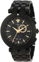 "Versace Men's 29G60D009 S060 ""V-Race"" Stainless Steel Watch"