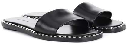 Alexander Wang Lola leather slides