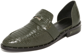 Freda Salvador Kind d'Orsay Penny Loafers
