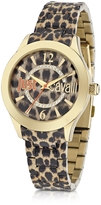 Just Cavalli Just Havana Animal Print Stainless Steel Women's Watch