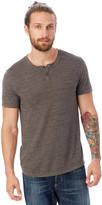 Alternative Shirt Tail Eco-Jersey Henley Shirt