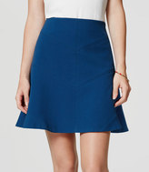 LOFT Tall Seamed Flippy Skirt