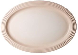 Le Creuset Oval Serving Platter - Meringue