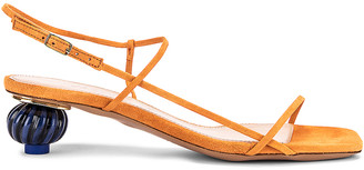 Jacquemus Les Sandales Manosque in Orange | FWRD