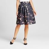 Women's Floral Print Full Midi Skirt - Jealous Tomato (Juniors')