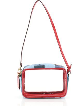 Louis Vuitton Beach Pouch Damier and Monogram Patchwork Denim