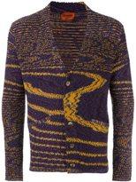 Missoni blurry stripes cardigan