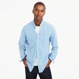 J.Crew Slim Secret Wash shirt in tattersall