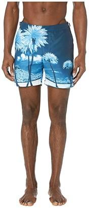 Orlebar Brown Bulldog Photographic Swim Trunk (Kaufmann Cocktail) Men's Swimwear