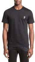 Versace Men's Half Medusa Patch T-Shirt