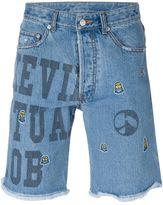SteveJ & YoniP Steve J & Yoni P - denim shorts - men - Cotton - XS