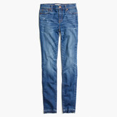 "Madewell Taller 9"" High-Rise Skinny Jeans in Hammond Wash: Drop-Hem Edition"