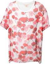 Giambattista Valli loose fit T-shirt - women - Silk/Cotton - 44