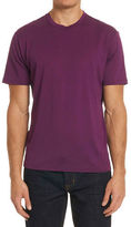 Robert Graham Clemons Silk-Cotton-Wool T-Shirt