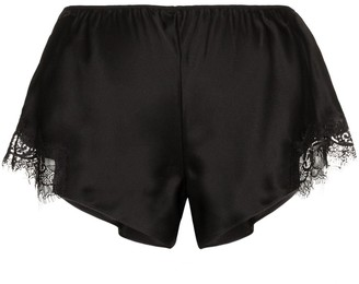 Sainted Sisters Scarlett lace-trimmed shorts