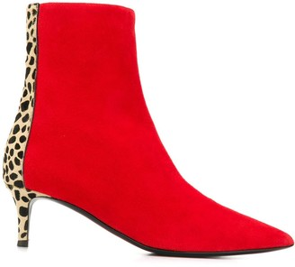 Giuseppe Zanotti Animal Print Boots