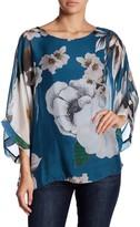 Luma Floral Dolman Sleeve Blouse