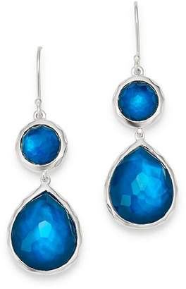 Ippolita Sterling Silver Wonderland Double-Drop Gemstone Earrings
