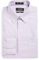 Nordstrom Men's Big & Tall Smartcare(TM) Classic Fit Stripe Dress Shirt
