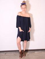 Tysa Senorita Mini Dress In Navy