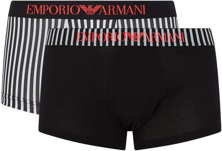 26e8274caf Armani Stretch Cotton Trunks - ShopStyle UK