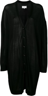 Maison Margiela Oversized Draped Cardigan