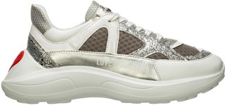Love Moschino Heart Colour Block Sneakers