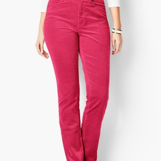 Talbots High-Rise Straight-Leg Pants - Curvy Fit - Cords
