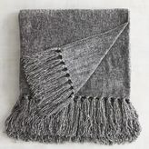 Pier 1 Imports Gray Chenille Throw
