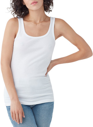 Splendid 1X1 Classic Scoop-Neck Tank
