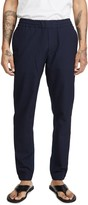 Paul Smith Elastic Waist Seersucker Trousers
