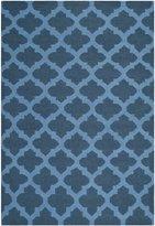Safavieh Dhurries Collection DHU623C-5 Hand Woven Wool Area Rug, 5x8-Feet