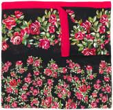 Dolce & Gabbana rose print scarf