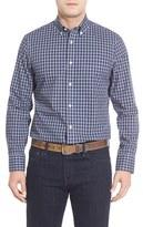 Nordstrom Men's Big & Tall Smartcare(TM) Mini Plaid Sport Shirt
