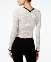 Free People Cami Lace V-Neck Top