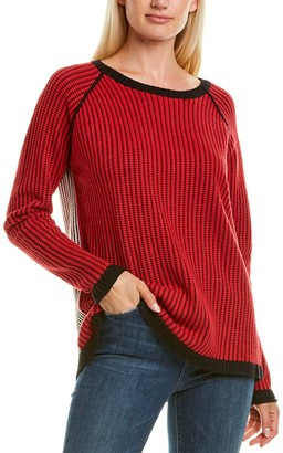 LISA TODD Chainstitch Cashmere-Blend Sweater