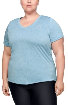 Under Armour Plus Size Short Sleeve Tech Tee