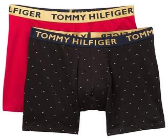 Tommy Hilfiger Cotton Stretch Boxer Briefs - Pack of 2