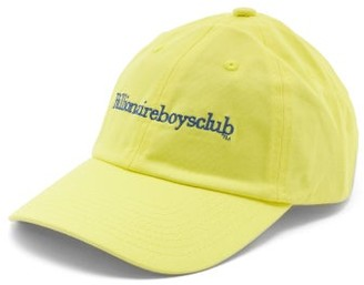 Billionaire Boys Club Logo-embroidered Cotton-canvas Cap - Yellow