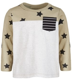 First Impressions Toddler Boys Stars Cotton T-Shirt, Created for Macy's