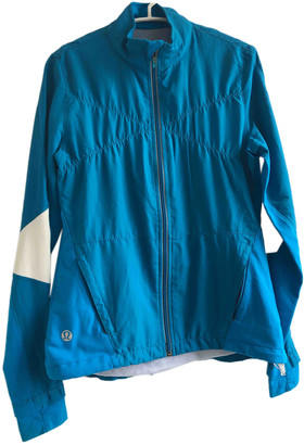 Lululemon Blue Silk Jackets