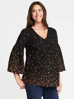 Old Navy Maternity Lace-Trim Swing Top