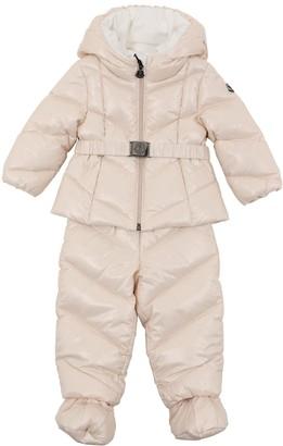 Moncler Lerie Nylon Down Jacket & Pants