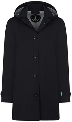Save The Duck Grin X Coat (Black) Women's Clothing
