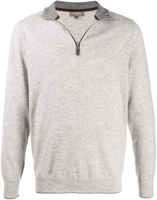 N.Peal The Carnaby zipped jumper