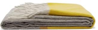 Begg & Co. - Arran Borderland Cashmere Blanket - Yellow